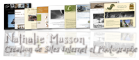 Lien vers le site de Nathalie MASSON creatrice de Sites Internet